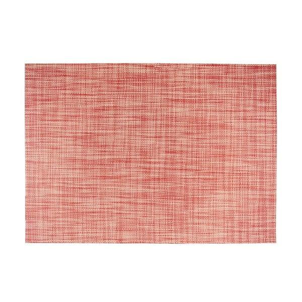 Suport pentru farfurie Tiseco Home Studio Melange Simple, 30x45cm, roșu