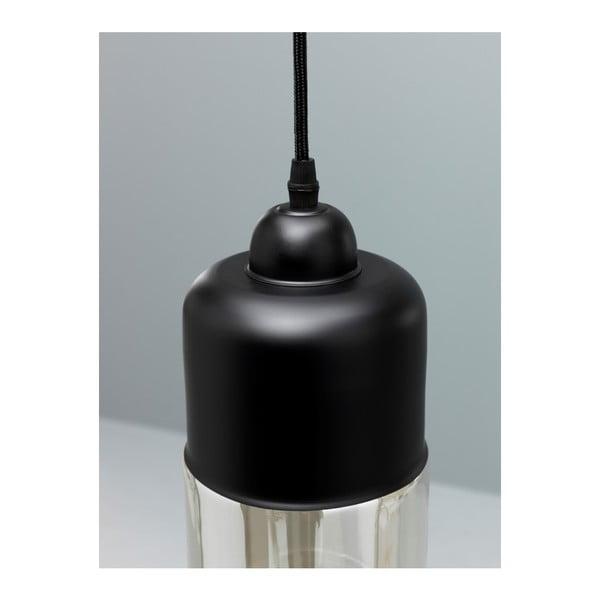 Lustră Design Twist Caracol, negru