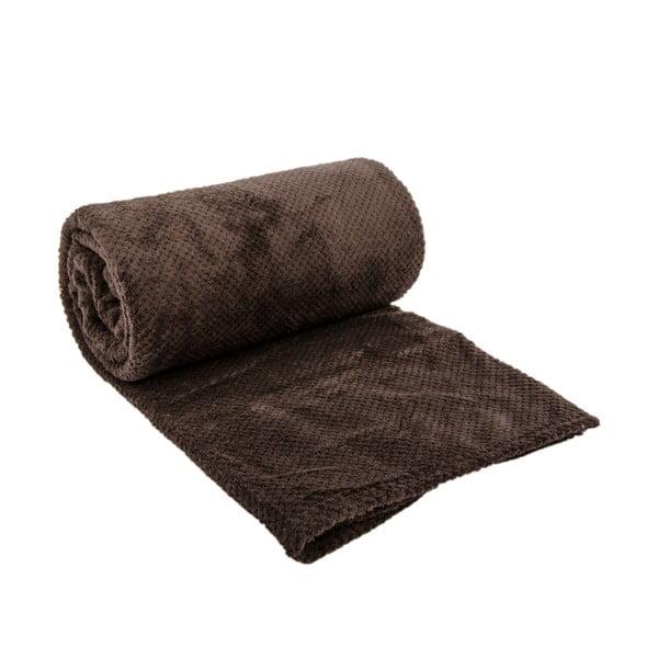Přehoz na postel Nidoux Brown, 180x220 cm