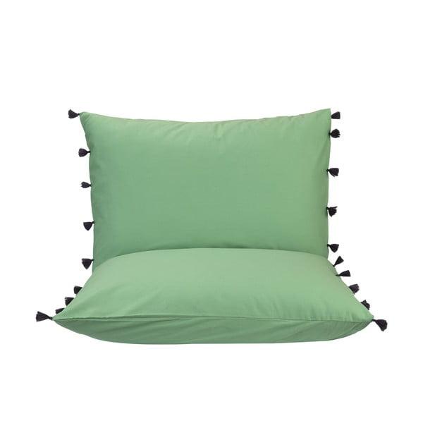 Set 2 perne decorative Bella Maison Tanora, 50 x 70 cm,verde