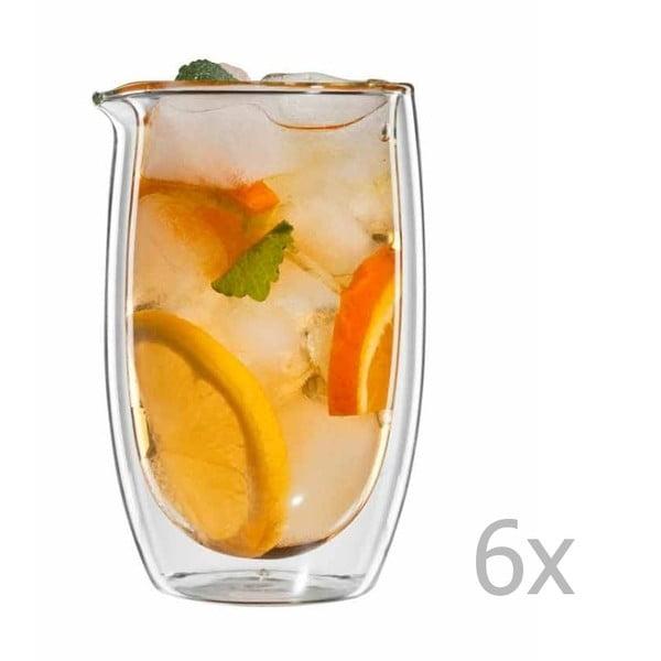Sada 6 sklenic na čaj bloomix Gyuokuro