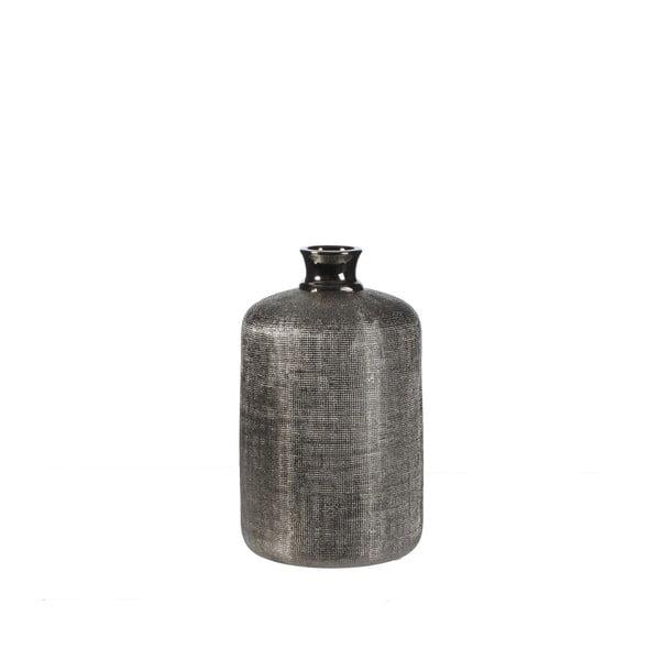 Keramická váza Ivan Silver, 30 cm