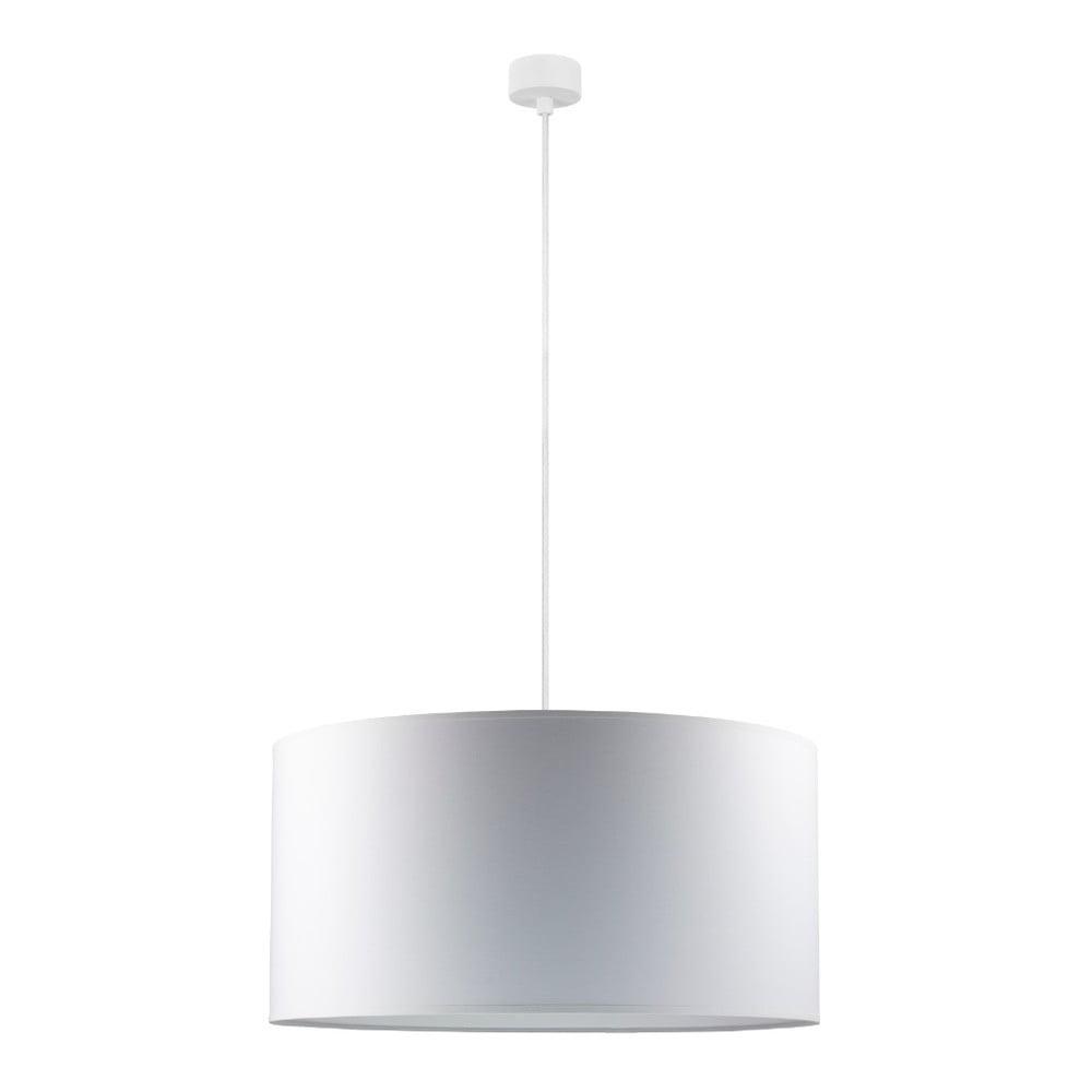 Bílé závěsné svítidlo s bílým kabelem Sotto Luce Mika, ⌀50cm
