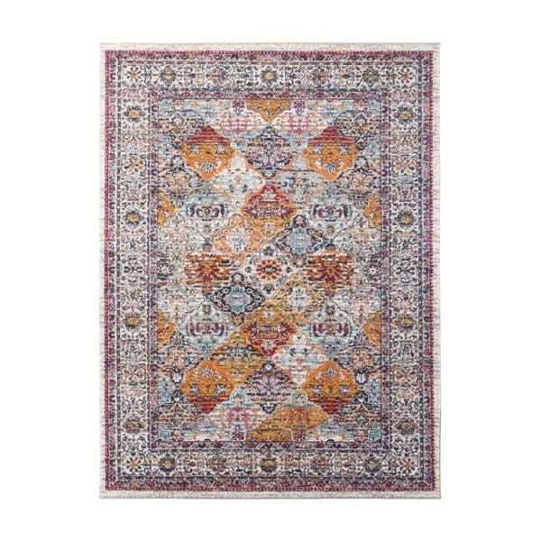 Krémovo-oranžový koberec Nouristan Kolal, 160 x 230 cm