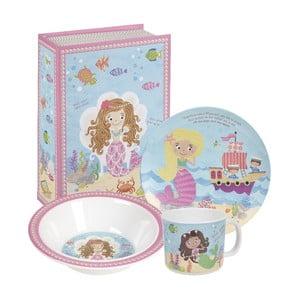 Dětský set nádobí Mermaids (3 ks)