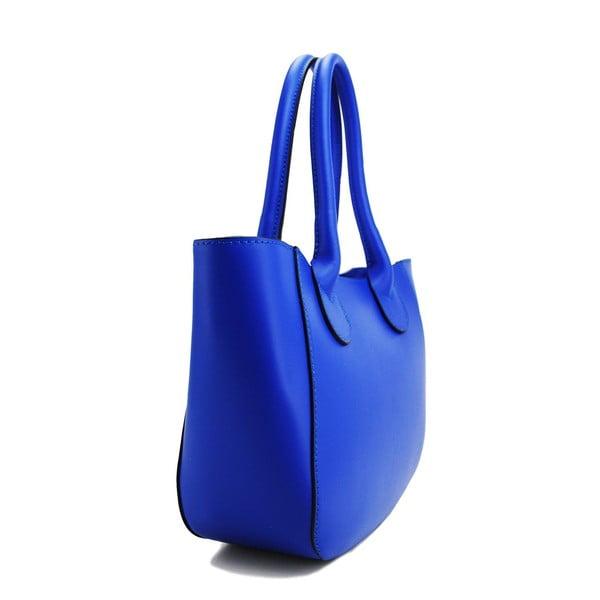 Kožená kabelka Filena Blue