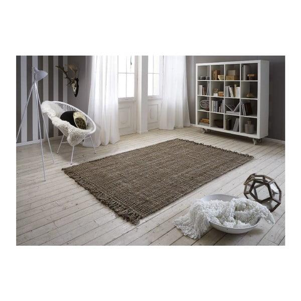 Jutový koberec Surface Natural, 50x80 cm
