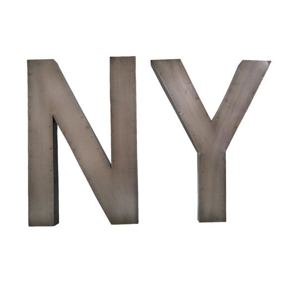 Dekorativní nápis NY