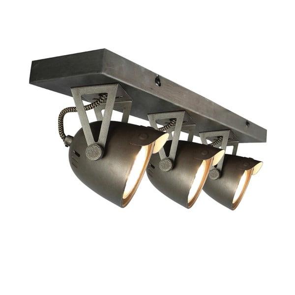 Szara lampa sufitowa LABEL51 Spot Moto Cap Tres