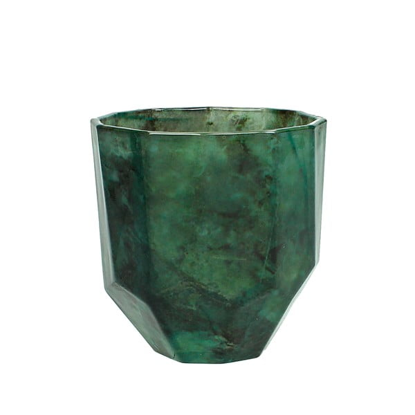 Rytý skleněný pohárek HF Living Emerald