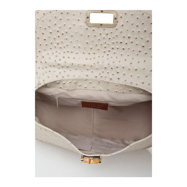 Kožená kabelka Bamboo Taupe