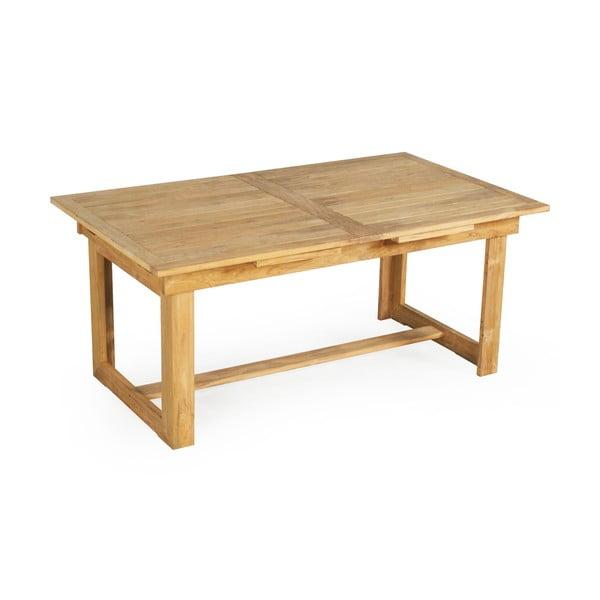 Sun kerti étkezőasztal teakfából, 6-8 személyes, hossz 180/230 cm - Ezeis