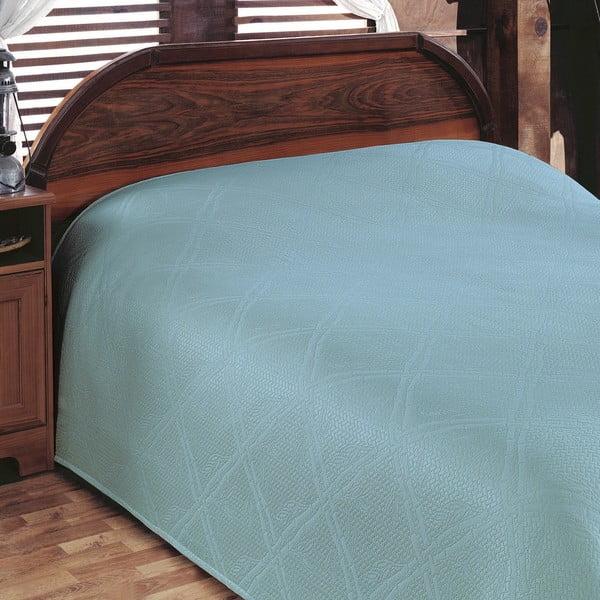 Přehoz přes postel Pike Turquoise, 200x230 cm