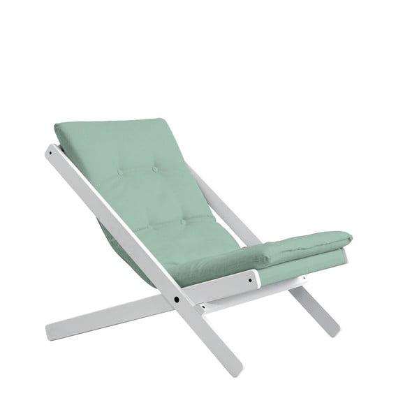 Boogie White/Mint összecsukható fotel - Karup Design