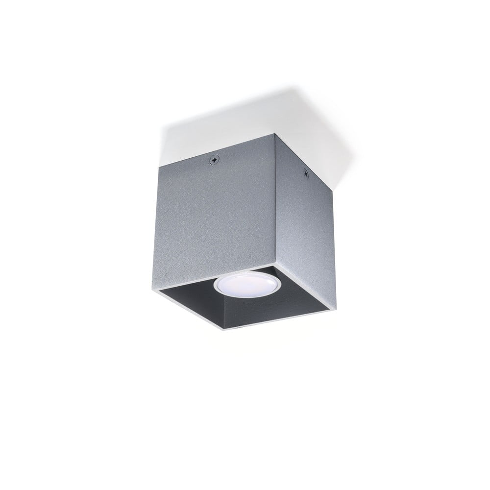 Šedé stropní svítidlo Nice Lamps Geo
