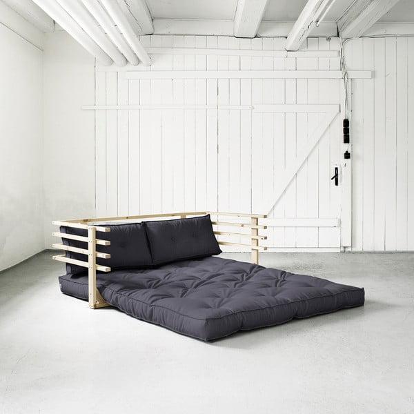 Canapea extensibilă Karup Funk Natural/Gray