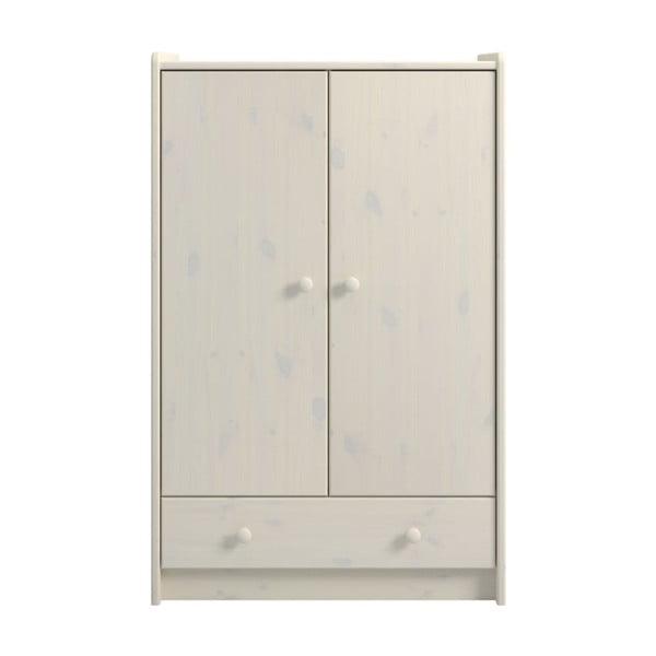 For Kids fehér, borovi fenyőfa szekrény - Steens