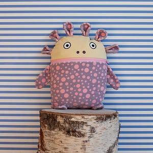 Šedorůžový pyžamožrout Bartex, 35x30cm