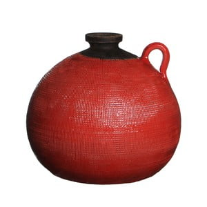 Keramická váza Latina Orange, 28x32 cm
