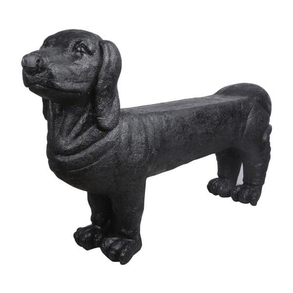 Bancă în formă de câine pentru grădină Esschert Design Dog