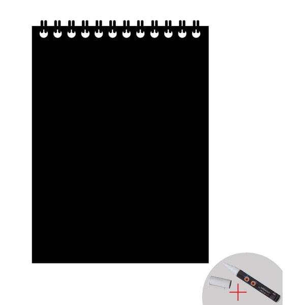 Autocolant tip tăbliță de scris cu cretă lichidă Ambiance Blackboard