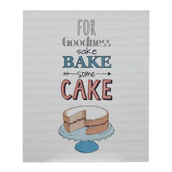 Nástěnná cedule Bake Some Cake