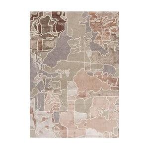 Ručně tuftovaný koberec Linie Design Pazzo Earth, 140x200cm