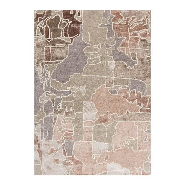 Ručně tuftovaný koberec Linie Design Pazzo Earth, 170x240cm