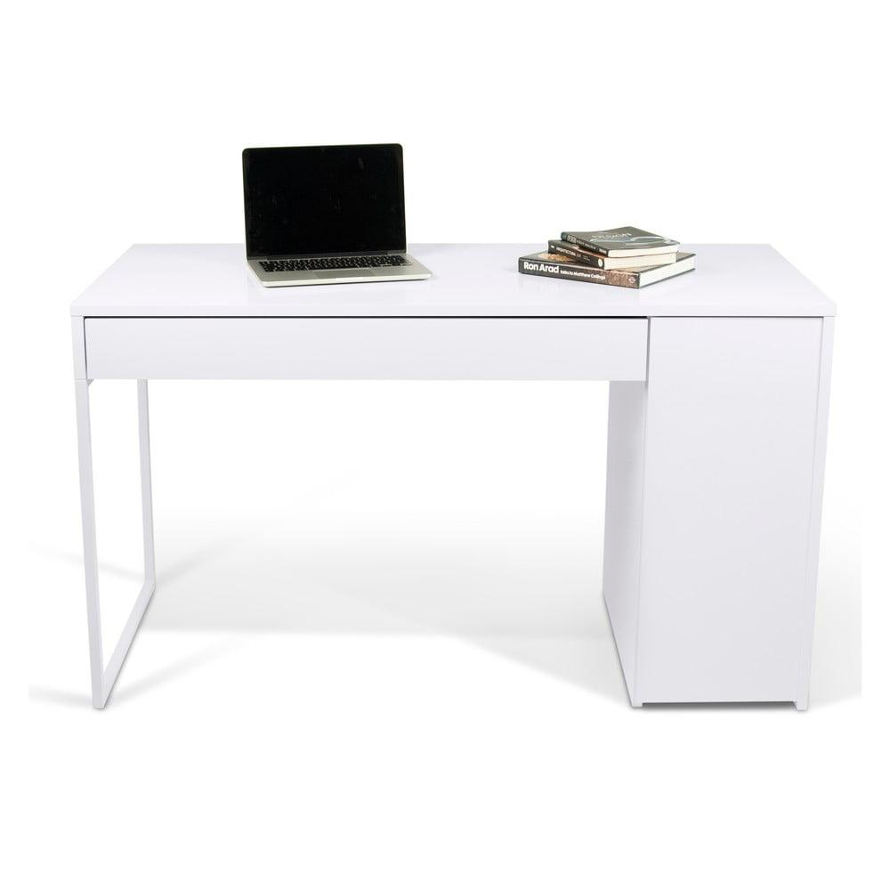 Pracovní stůl Prado, bílé nohy