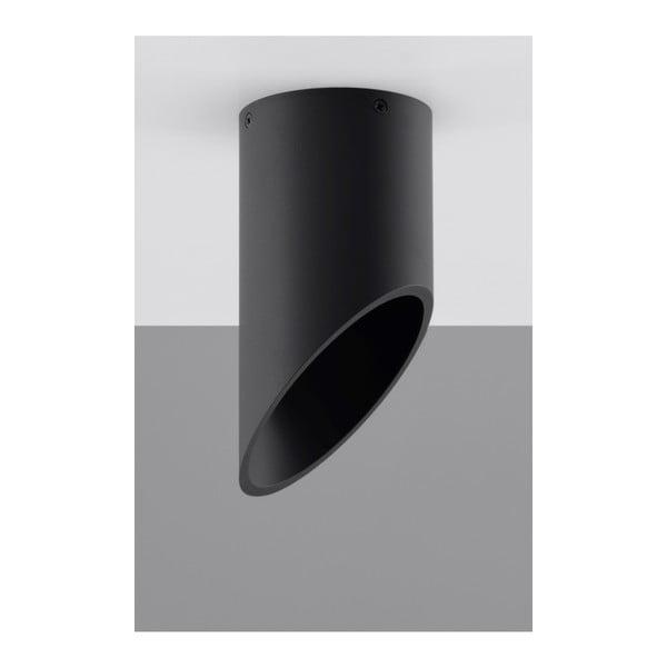Černé stropní světlo Nice Lamps Nixon, délka20cm