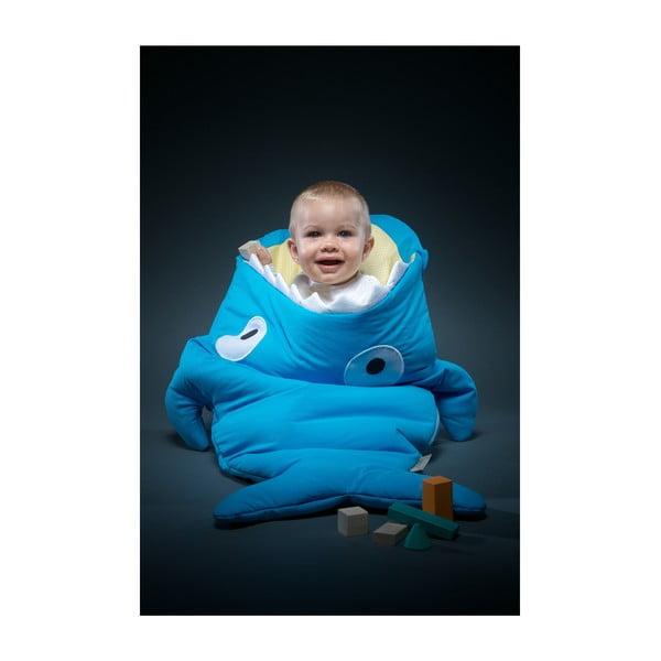 Dětský spací vak Blue Vichy, vhodné i na teplé dny