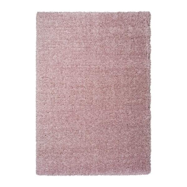 Covor Universal Floki Liso, 140 x 200 cm, roz