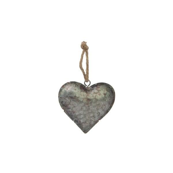 Závěsná dekorace Antic Line Zinc Heart