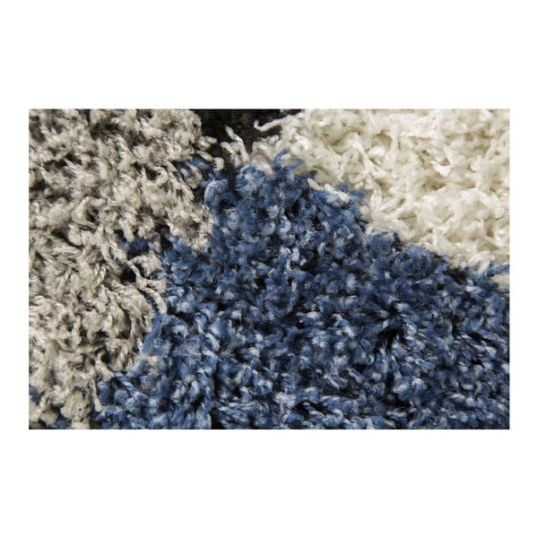 Modro-šedý koberec Flair Rugs Andes Blue/Grey, 160 x 230 cm