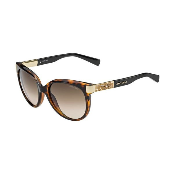 Sluneční brýle Jimmy Choo Erin Havana/Brown