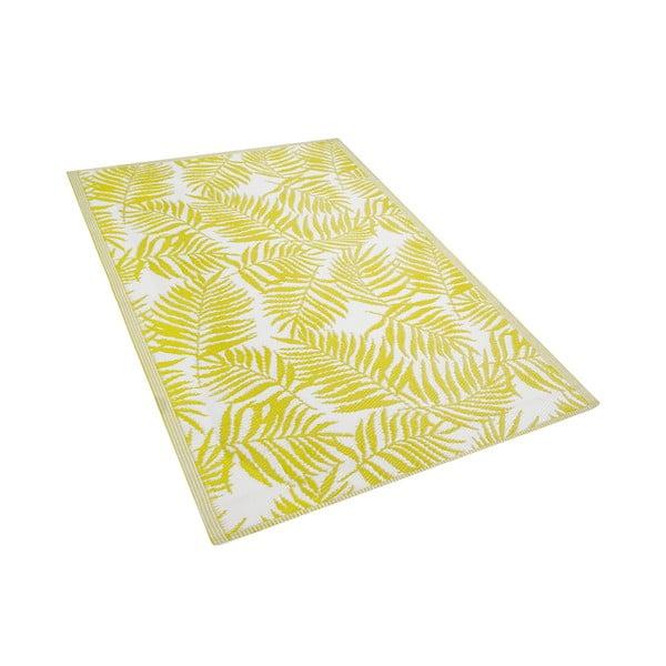 Żółty dywan na zewnątrz Monobeli Casma, 120x180 cm