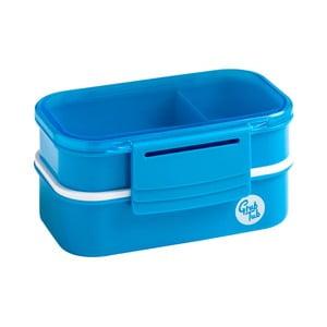 Set 2 modrých svačinových boxů Premier Housewares Grub Tub,13,5x10cm