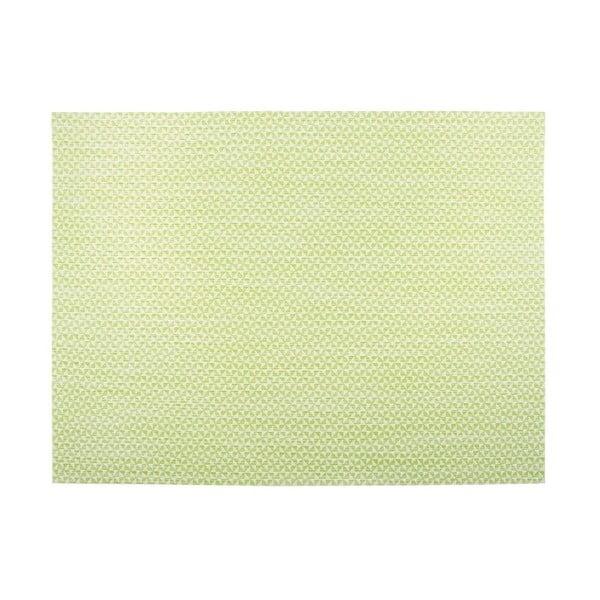 Melange Triangle világoszöld tányéralátét, 30 x 45cm - Tiseco Home Studio