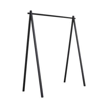 Cuier din lemn de pin Karup Design Hongi Black, negru imagine