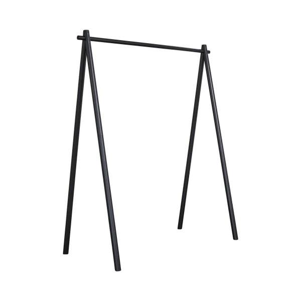 Černý věšák z borovicového dřeva Karup Design Hongi Black