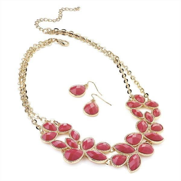Set náhrdelník a náušnice Mia