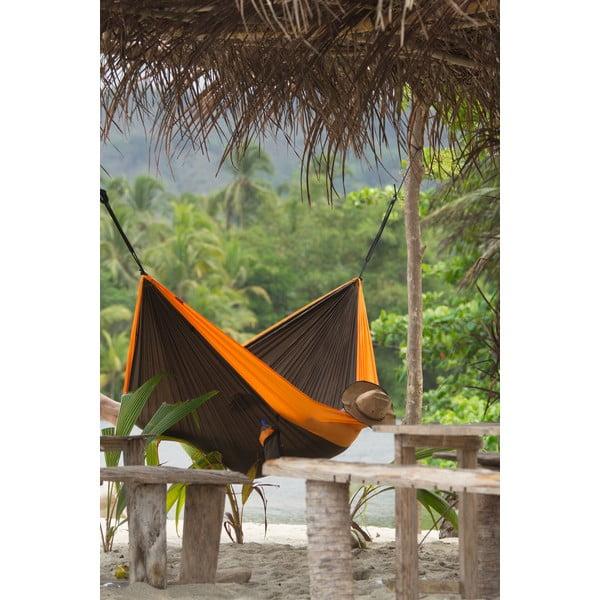 Cestovní závěsný vak až pro dva Colibri, černý/oranžový