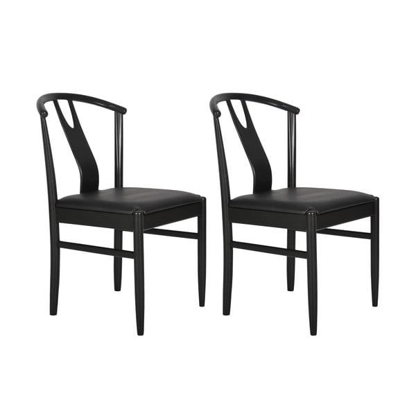 Černá jídelní židle RGE Hugo