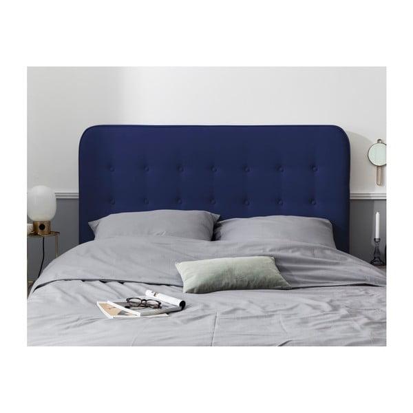 Modré čelo postele HARPER MAISON Lena, 200 x 120 cm