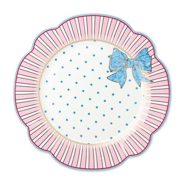 Porcelánový talíř  Bowie od Lisbeth Dahl, 24 cm, 4 ks