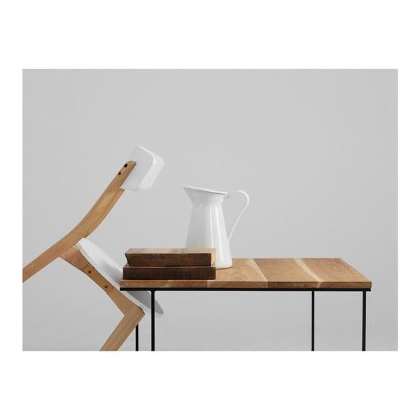 Măsuță de cafea cu blat din lemn de stejar Custom Form Walt, 100 cm