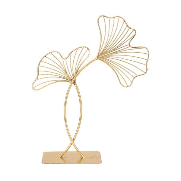 Leaf Glam aranyszínű dekoráció, magasság 44 cm - Mauro Ferretti