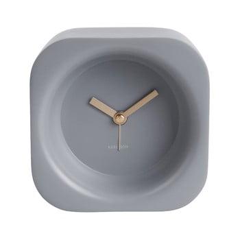 Ceas cu alarmă Karlsson Chunky, gri imagine