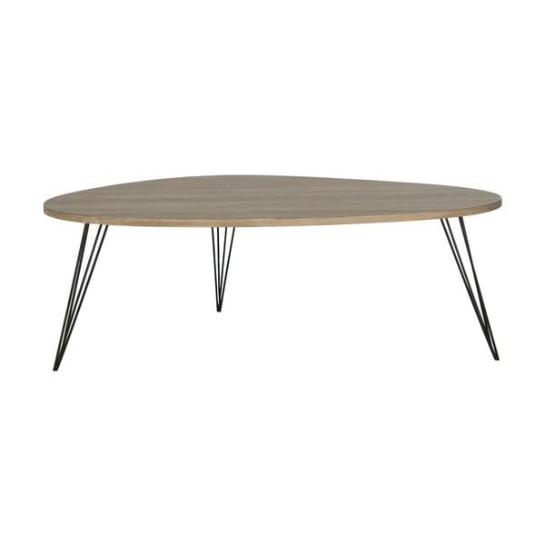 Kávový stůl Wynton, tmavá deska