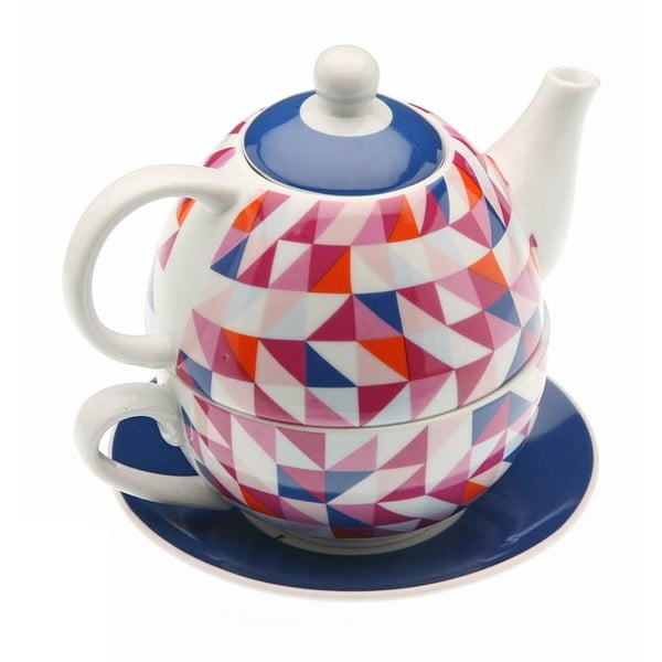 Konvička a hrnek v jednom Geometric Tea